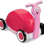 Girls Push, Pull & Ride