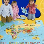 World Map Puzzle (Two Sizes)