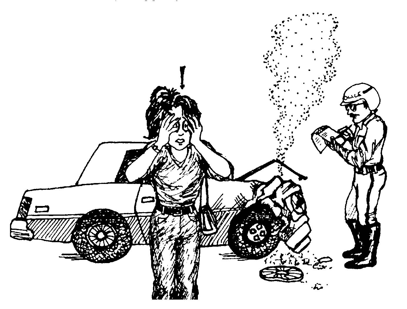 car accident prone