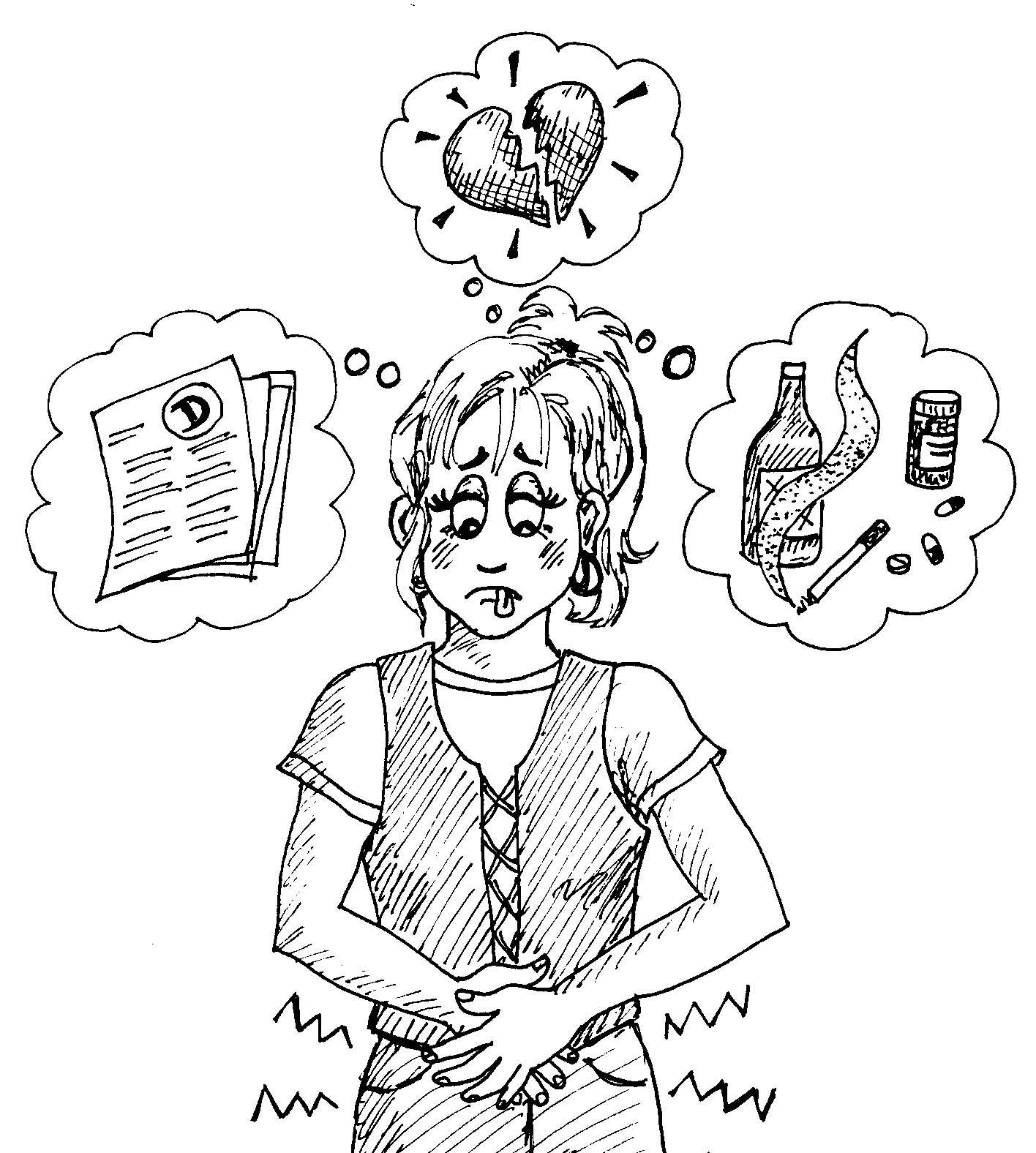 teenage dating stress